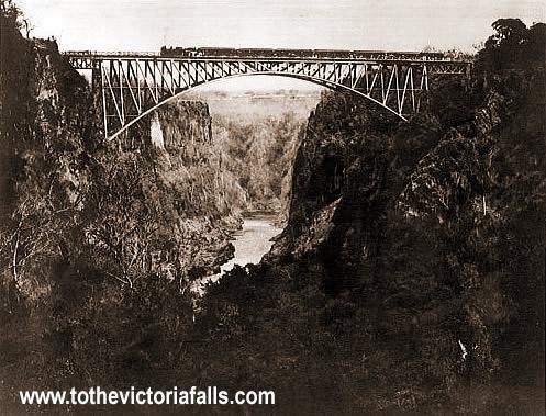 Victoria Falls Figures The Victoria Falls Bridge