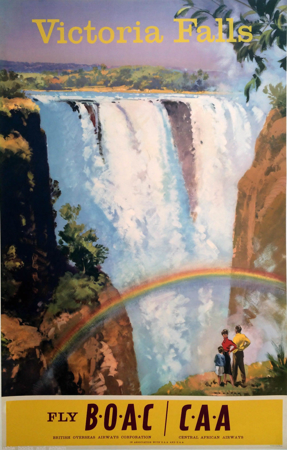 To The Victoria Falls Flying Boats